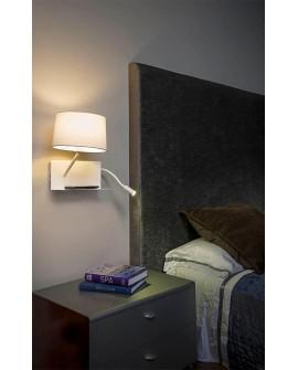 Aplique de pared moderno Coren dormitorio