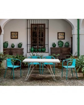 Mesa para terraza jardín Cadaques