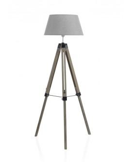 Lámpara de salón con trípode vintage Manao