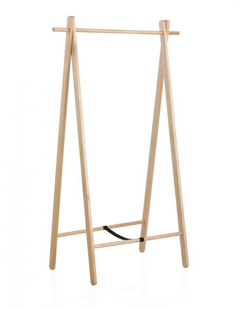 Perchero plegable de madera moderno Jacen