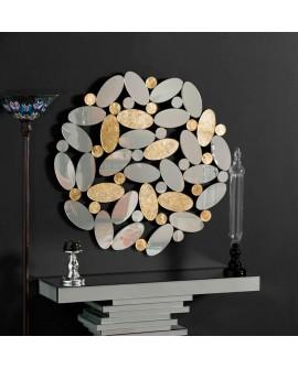 Espejo de cristal moderno Manglar