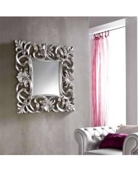 Espejo moderno en plata Doler