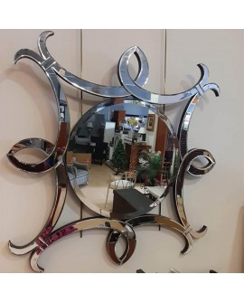 Espejo de cristal moderno Cedro