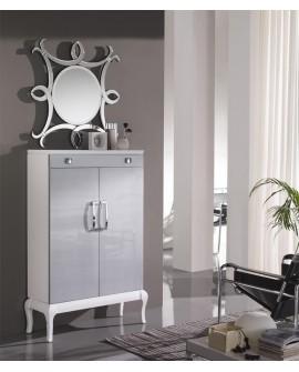 Espejo de cristal moderno Cedro, entrada