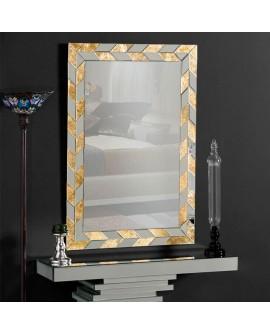 Espejo de cristal moderno Barqueta