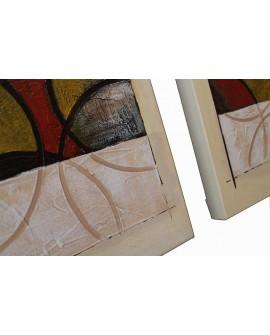 Pintura moderna JE 6633, detalle