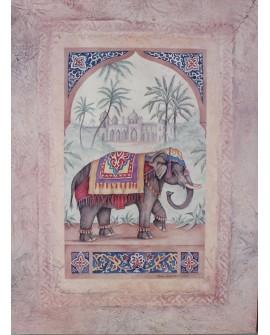 Cuadro elefante clásico LE 5713
