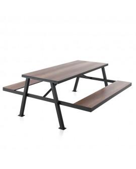 Mesa picnic para bar Imbele