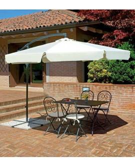 Sombrilla regulable para terraza Honoria