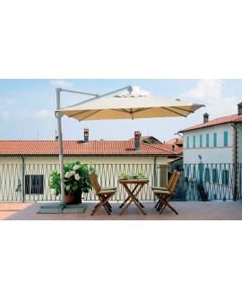 Sombrilla regulable para terraza jardín Aurelia