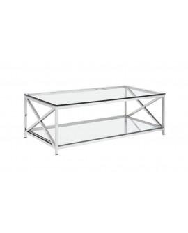 Mesa salón de cristal moderna Tapel