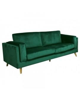 Sofá moderno en terciopelo Mital