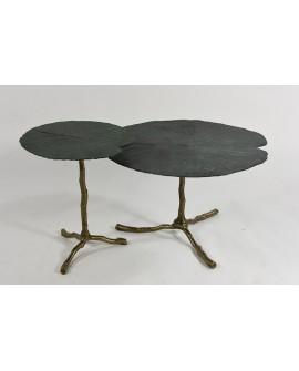 Set de mesa auxiliar industrial Quitena
