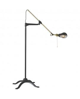 Lámpara pie de salón vintage Garnier