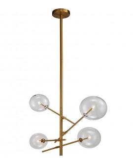 Lámpara de techo moderna 4 luces Orsay