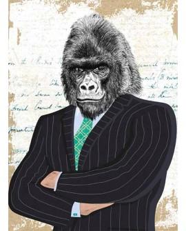 Cuadro de Hombre Mono