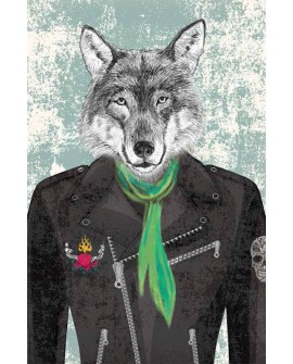 Cuadro de Hombre Lobo
