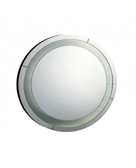 Espejo de cristal con led redondo Duyes