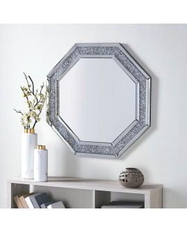 Espejo octogonal de cristal Sucen