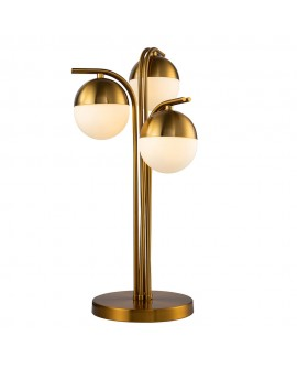 Lámpara de sobremesa moderna 3 luces Orsay