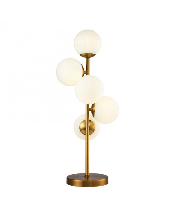 Lámpara de sobremesa moderna 5 luces Orsay