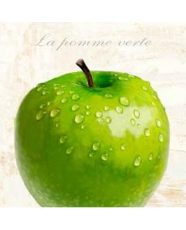 Cuadro manzana verde