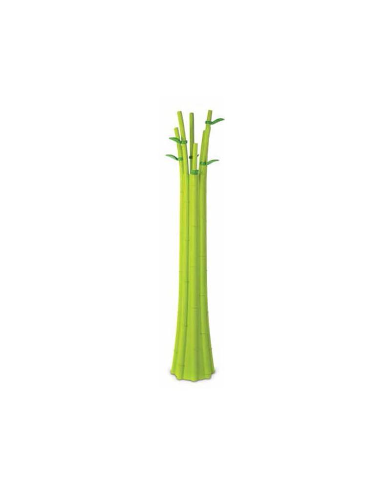 Perchero de diseño Bamboo verde