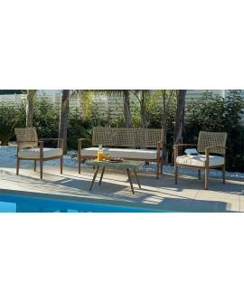 Conjunto de terraza jardín Lucrecia
