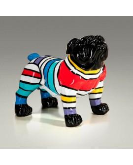 Figura Bulldog franjas