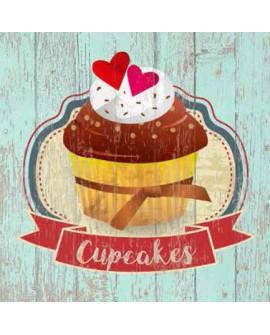 Cuadro Cupcakes