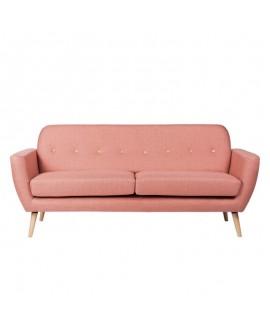Sofá nórdico Avon rosa