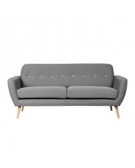 Sofá nórdico Avon gris