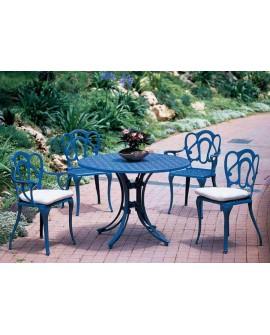 Mesa y sillas de jardín Amore
