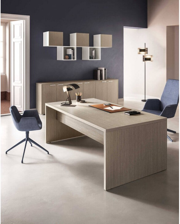 Mesa oficina moderna Fianco Legno