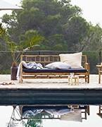 Sofás para terraza y jardín en hoteles y restaurantes